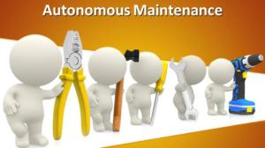 Pelatihan Autonomous Maintenance, Training Autonomous Maintenance