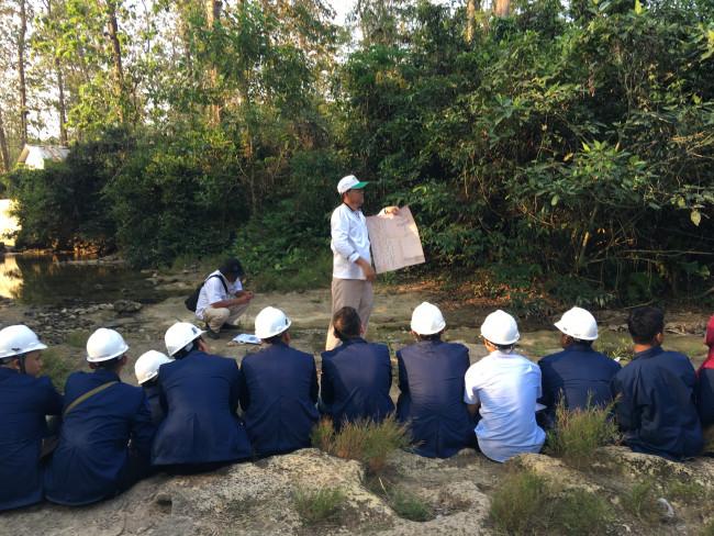 Pelatihan Pengantar Geologi Teknik, Training Pengantar Geologi Teknik